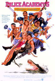 Plot the old commandant lassard leader of the police academy 1984