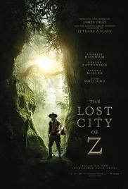 Download The Lost City of Z 2017 BluRay Full Movie Cover